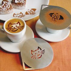 If you're likely to visit 1 cat cafe in Montreal, make sure to stop by Cafe Venosa. Fortunately, there's a cafe for it. Latte Art, Cat Lover Gifts, Cat Gifts, Coffee Art, Coffee Shop, Gadgets, Pet Cafe, Information About Cats, Kitty Cafe
