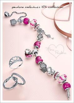 The Pandora Valentine's 2016 collection is due out on Thursday the 14th of January. I already posted most of the pricing for the US in my previous preview, ...