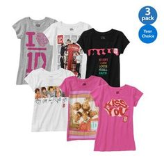 One Direction Graphic Tees ONLY $4 SHIPPED *WOW*  http://www.frugallivingandhavingfun.com/2013/08/one-direction-graphic-tees-only-4-shipped-wow/