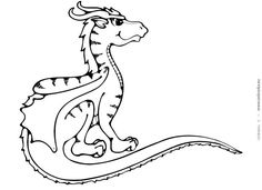 baby dragon coloring page dragons to color pinterest baby