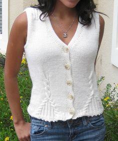 Ravelry: Soleto Vest by Nitza Coto