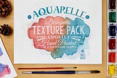 Aquarelle Designers Texture Pack by Stella's Graphic Supply on Creative Market