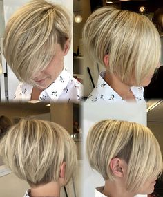 Love this hair cut but I think it is for younger women