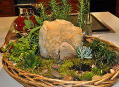 Resurrection Garden centerpiece