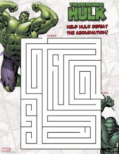 FREE Incredible Hulk Mask Download