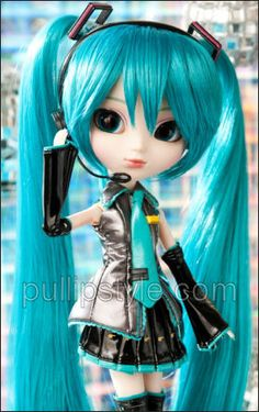 P-034 April 2011 - Pullip Vocaloid Hatsune Miku