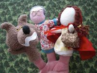 Obsessively Stitching: Finger Puppet Tutorials