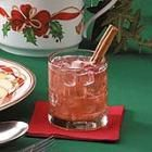 Christmas punch with a touch of cinnamon....  2 cups water   3/4 cup sugar  1/2 teaspoon ground cinnamon  1 (46 fluid ounce) can pineapple juice, chilled   4 cups cranberry-apple juice, chilled  1 liter ginger ale, chilled