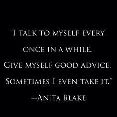 Anita Blake, Vampire Hunter...not bad for a fictional character.