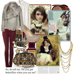 """Falling In Love At A Coffee Shop"" created by #colette, #polyvore #fashion #style T by Alexander Wang All Saints Current/Elliott Christian Louboutin Dolce&Gabbana Wet Seal Forever 21 #Guerlain Tom Ford lily collins"