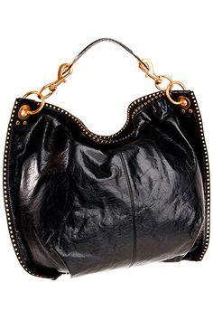 edgy take on classic bag