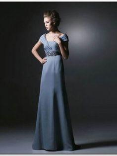 A-line Off-the-shoulder Chiffon Floor-length Sleeveless Crystal Detailing Prom Dresses Shop uk