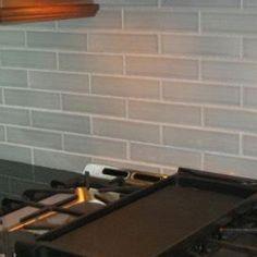 "lush 3x6 river rock - ""greige"" glass subway tile | best kitchen"