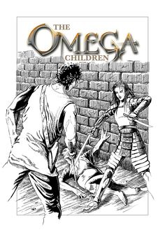 Inks for book 3 of The Omega Children. Created on a Wacom in Photoshop.