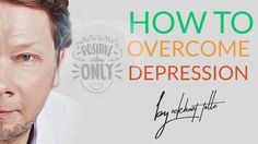 Talk by Eckhart Tolle- How to overcome depression and anxiety. [Audio]