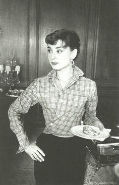 Audrey Hepburn, 1953. by audreyandmarilyn, via Flickr
