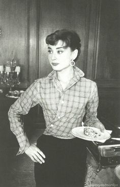 Audrey Hepburn, 1953. by audreyandmarilyn, via Flickr