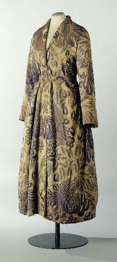 Vintage EGERIA Morgenmantel Bademantel Morgenrock Frottee Kleid 70er ...