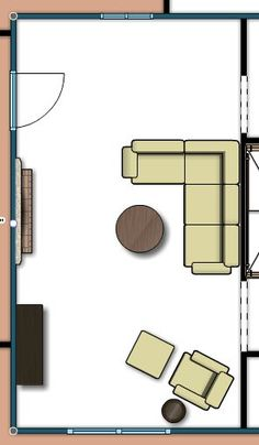 Living Room Layout 2