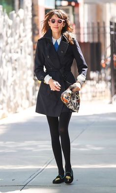 Alexa Chung Photo - Alexa Chung Out And About In NYC