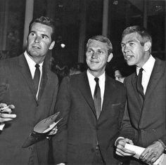 Garner, McQueen, Coburn.             Screen Legends