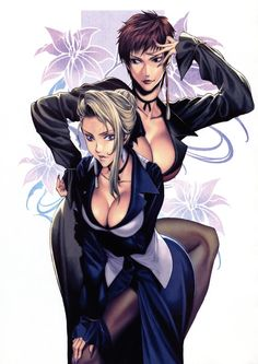 Mature & Vice, The King of Fighters artwork by Homare (Fool's Art) Girls Anime, Anime Art Girl, H Comic, Shiranui Mai, Snk King Of Fighters, Art Of Fighting, Fighting Games, Comic Art Community, Comics Girls
