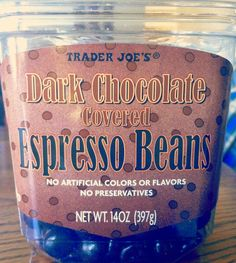 Chocolate Covered Espresso Beans - The Preppy Ginger