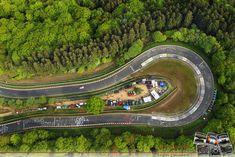 "Legendary curve - the ""Caracciola-Karussell"" - Nurburgring"
