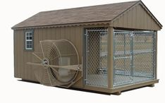 Details about Kennel Mount Dog Exercise Wheel or Dog powered GoPet Treadwheel , - dog kennel cover Big Dog Kennels, Portable Dog Kennels, Cheap Dog Kennels, Dog Boarding Kennels, Dog Kennel Designs, Kennel Ideas, Dog Kennel Cover, Cat Kennel, Dog House Plans