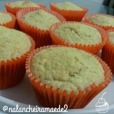 Muffins de coco - Na lancheira mãe de 2