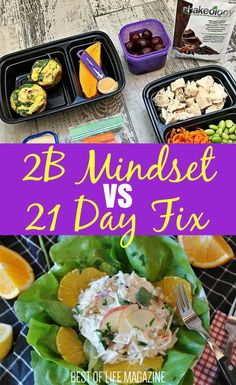 Taking 2B Mindset vs 21 Day Fix will let you see the many differences between both of the best Beachbody diet plans that are designed to help you lose weight. Finding the best diet plan that will help you lose the most weight sounds impossible. But Beachbody makes the impossible, possible with the help of nutritionists and their healthy diet plans.