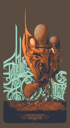 14 Artworks by Aaron Horkey – Between Illustration and Typo