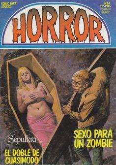 mudwerks:    Mundo Bocado: SEPULKRA    Las aventuras de Sepulkra (Cimiteria, originalmente), publicadas en la revistaHorror.