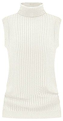 At Women's Clothing Center you can get V28 Women's Ladies Juniors Sleeveless Mock Neck Turtleneck Tops Jumper Sweater and additional similar products at our reasonable prices. Shop now and save on all you need from top to bottom.