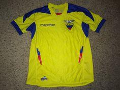 Sale Marathon ECUADOR Soccer Jersey Football Shirt by casualisme