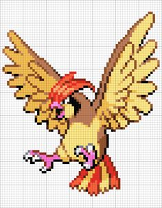 Beaded Cross Stitch, Cross Stitch Patterns, Pixel Pokemon, Pokemon Sprites, Pokemon Cross Stitch, Pixel Art Grid, Pokemon Perler Beads, Pokemon Craft, Pixel Art Templates
