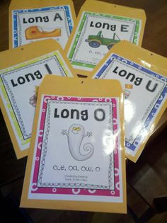 Teach it With Class: Long Vowels - Oh dear!