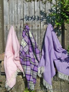 Lambswool throws for summer T45 - THROWS & PICNIC BLANKETS New Welsh Blankets