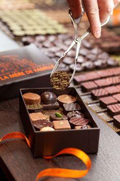 Les Dix Meilleurs Chocolatiers de Paris.