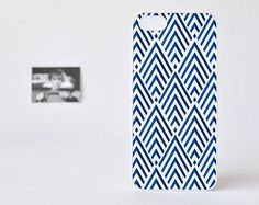 Geometric iPhone Case - Blue Geometric iPhone 5 Case - Geometric iPhone 4 / 4s Case - Accessories for iPhone