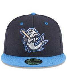 Minor League Baseball, New Era Hats, New Era 59fifty, Fitted Caps, Mens Caps, Sports Fan Shop, Headgear, Art Logo, Mens Gift Sets