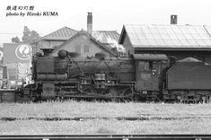 岩内駅構内の2つ目キューロク(79615号機)