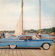 hollyhocksandtulips:  Dodge, 1957