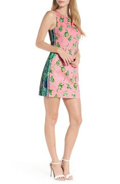 857ce5d11b0 Free shipping and returns on Lilly Pulitzer® Mila Stretch Shift Dress at  Nordstrom.com