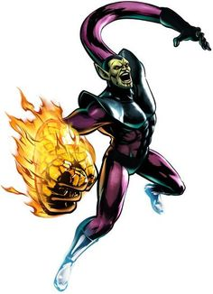35938 - Ultimate Marvel vs. Capcom 3: Super Skrull