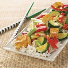 Coconut-Curry Tofu Stir-Fry - Yummly.com