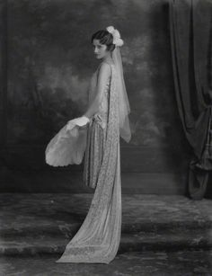Margaret Cardiff by Lafayette, 1926 - she is wearing a court dress.