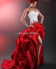 ... rouge robe de mariée UM717 dans Robes de mariée de Mariages et