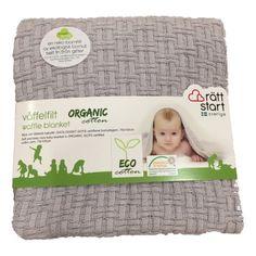 Økologisk tæppe, grå - Babysam.dk eller andre babytæpper