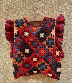 Crochet Needles, Crochet Stitches, Crochet Blouse, Knit Crochet, Crochet Clothes, Diy Clothes, Summer Knitting, Crochet Woman, Crochet Fashion